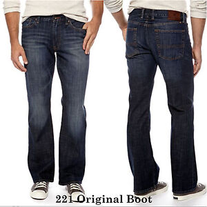 "Lucky Brand,Men's Jeans.""221 ORIGINAL BOOT"" Slim ..."
