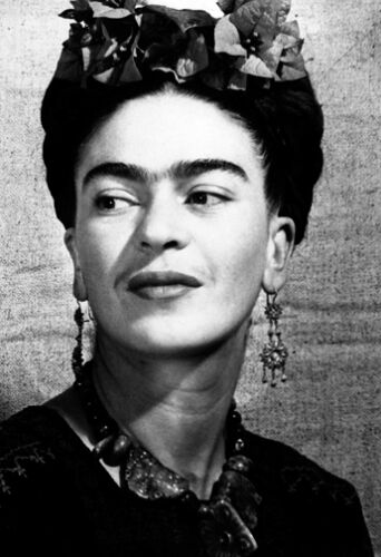 LARGE A3 SIZE QUALITY CANVAS PRINT FRIDA KAHLO Mexican Painter
