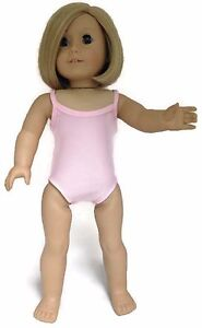 Pink-Sleeveless-Leotard-Gymnastics-Dance-made-for-18-034-American-Girl-Doll-Clothes