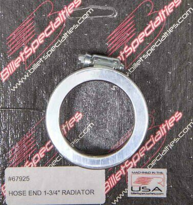 Billet Specialties 67925 1.75 Radiator Hose End