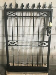 Pedestrian-Gate-Wrought-Iron-Adjustable-9m-to-95m-opening-1-5m-high-In-Stock