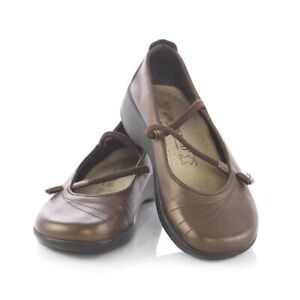 Arcopedico-Bronze-Mary-Jane-Ballet-Flats-Shoes-Womens-36-US-5-5-to-6-Portugal