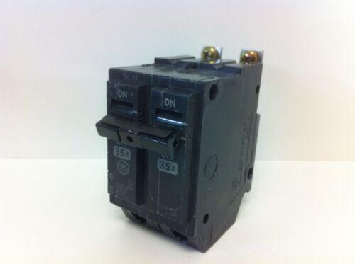 NEW GE GENERAL ELECTRIC 35A 2-POLE CIRCUIT BREAKER THQB22035 120//240V