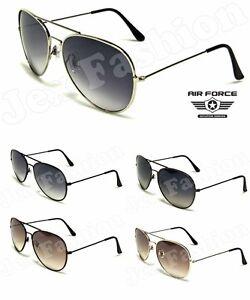 Aviator Classic Retro Pilot Sunglasses Men Women Metal Shades