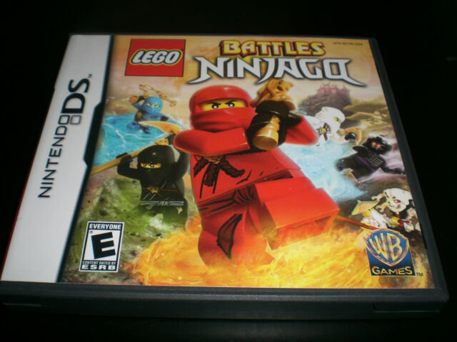 LEGO Battles: Ninjago (Nintendo DS) Lite DSi XL 3DS Complete Great Condition