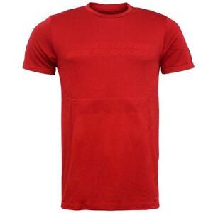 Puma-SF-Ferrari-evoknit-Rosso-Poliestere-Da-Uomo-Tee-Top-T-shirt-762245-01-EE59