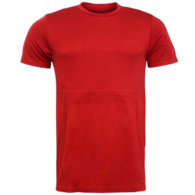 Puma SF Ferrari evoknit rosso poliestere Maglietta da uomo TOP T-SHIRT 762245 01
