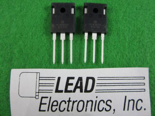 QTY2 ONSEMI  MJW18020G NPN Power transistors ROHS COMPLIANT # NEW PARTS