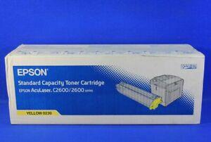 Original-Epson-S050230-0230-Original-Toner-Yellow-Aculaser-C2600-Series-A-Ware