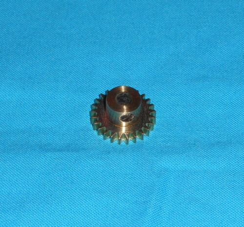 meccano laiton 1 pignon étroite 25 dents No25v