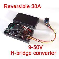 30A Reversible 12V 24V 36V 1400W PWM H-bridge converter DC Motor Speed Control