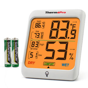ThermoPro-TP53-Digital-LCD-Indoor-Hygrometer-Thermometer-Room-Humidity-Meter