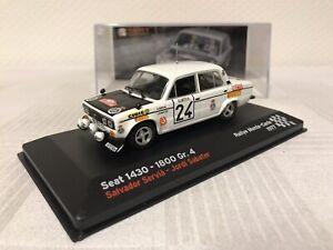 Seat-1430-Especial-1800-1-43-Rallye-Geschenk-Modellauto-Modelcar-Spielzeug-Top