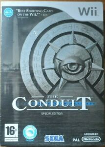 The-Conduit-special-edition-Nintendo-Wii-video-game-PAL-New-amp-sealed