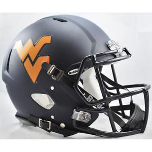 WEST VIRGINIA MOUNTAINEERS NCAA Riddell SPEED Authentic Football Helmet