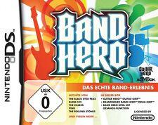 Band Hero mit Guitar Grip und Drum Grip für Nintendo Ds Lite Neu/Ovp