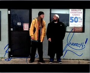 JASON-MEWES-amp-KEVIN-SMITH-Signed-Autographed-039-JAY-AND-SILENT-BOB-039-8X10-CLERKS-D