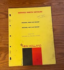 New Holland Model 460 Amp 461 Haybine Service Parts Catalog Issue 9 71