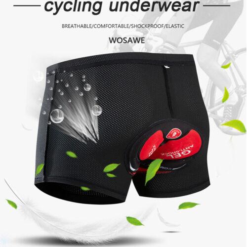 Men Women Cycling Shorts Bicycle Bike Underwear Pants with Gel Padded Shorts
