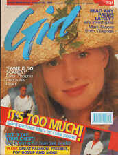 Girl  Magazine 30 August 1989  River Phoenix Then Jerico Mark Moore of S'Express