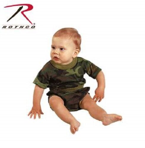 Rothco 6563 Infant Woodland Camouflage T-shirt