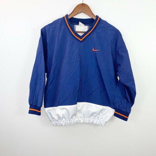 Vintage 90s Nike Pullover Windbreaker Navy Blue V