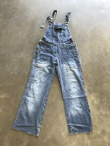 womens-dungarees-size-10-UK-Zoe-London-Blue
