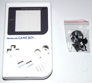 Carcasa repuesto gameboy DMG-001 blanca nueva