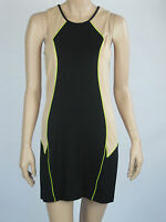 T By Bettina Liano Ladies Fashion Sleeveless Mini Dress Size 14 Black / Nude
