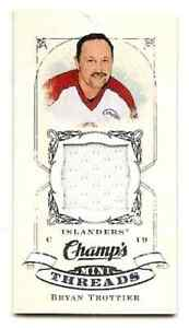 BRYAN-TROTTIER-2008-09-UD-CHAMPS-MINI-THREADS-GAME-USED-JERSEY