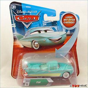 Sally lenticular look my eyes change 2012 Disney Pixar Cars Mattel NIP NEW RARE!