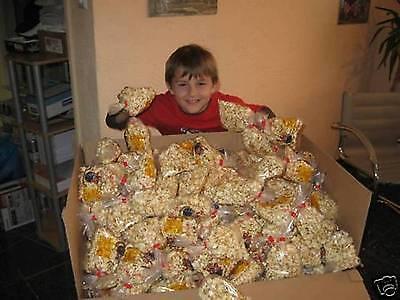 500 St. Popcorn A. 35 G Fasching Karneval Wurfmaterial Kamelle Bonbon Lolly Elegant Im Stil