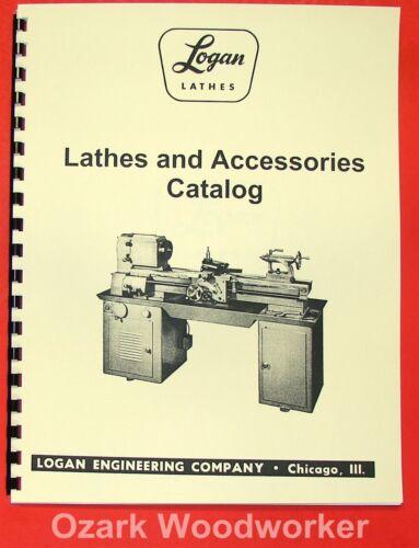 and Accessory Catalog Manual 0463 LOGAN Lathe Shaper