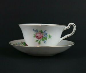 Rosina-4870-Teacup-Tea-Cup-and-Saucer-Set-Bone-China-Made-in-England