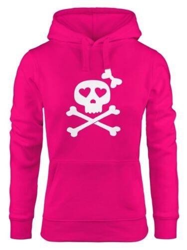 Hoodie Femmes os bones tete de mort Pirate Sweatshirt Capuche Capuche