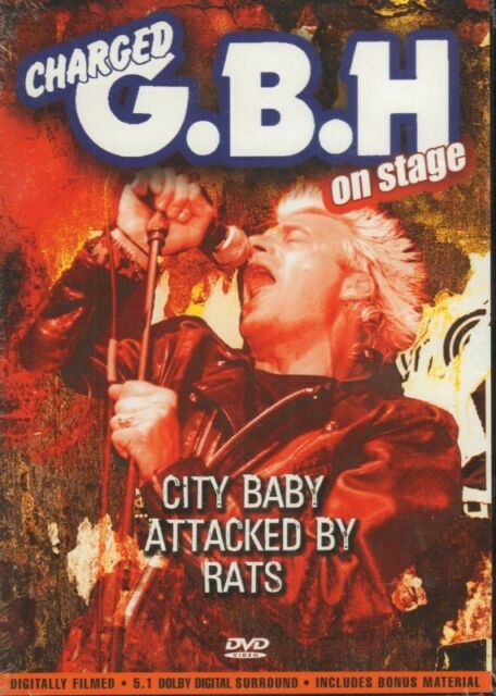 Charged G.B.H On Stage City Baby Attacked By Rats-SMADVD219X-(DVD)-New