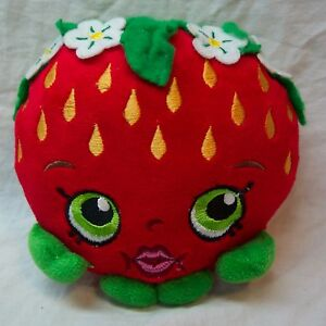 Shopkins-SOFT-STRAWBERRY-KISS-6-034-Pillow-Plush-STUFFED-ANIMAL-Toy