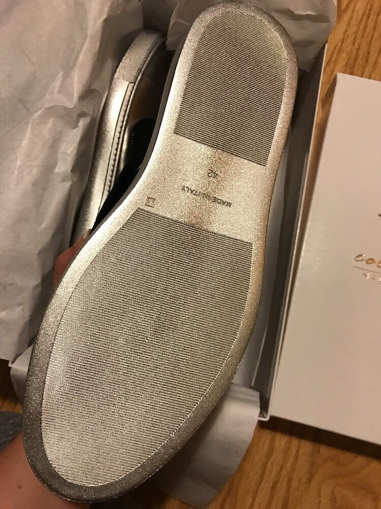 Creative Recreation Men's Turino Canna Fucile Silver Black Fashion Sneakers 9 42