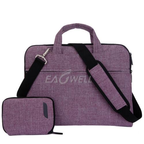 "For 11/"" 12.5/"" 11.6/"" inch Macbook Laptop Notebook Sleeve Case Shoulder Bag Pouch"