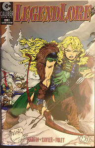 Legend-Lore-1996-1-NM-1st-Print-Caliber-Comics