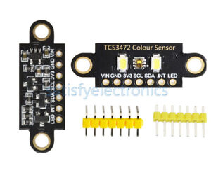 NEW TCS34725 RGB 34725 Light Color Sensor Recognition Module For Arduino UNO