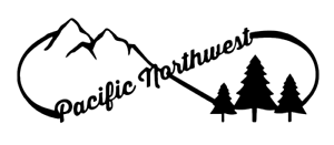 PNW Infinity Pacific North West Love Decal