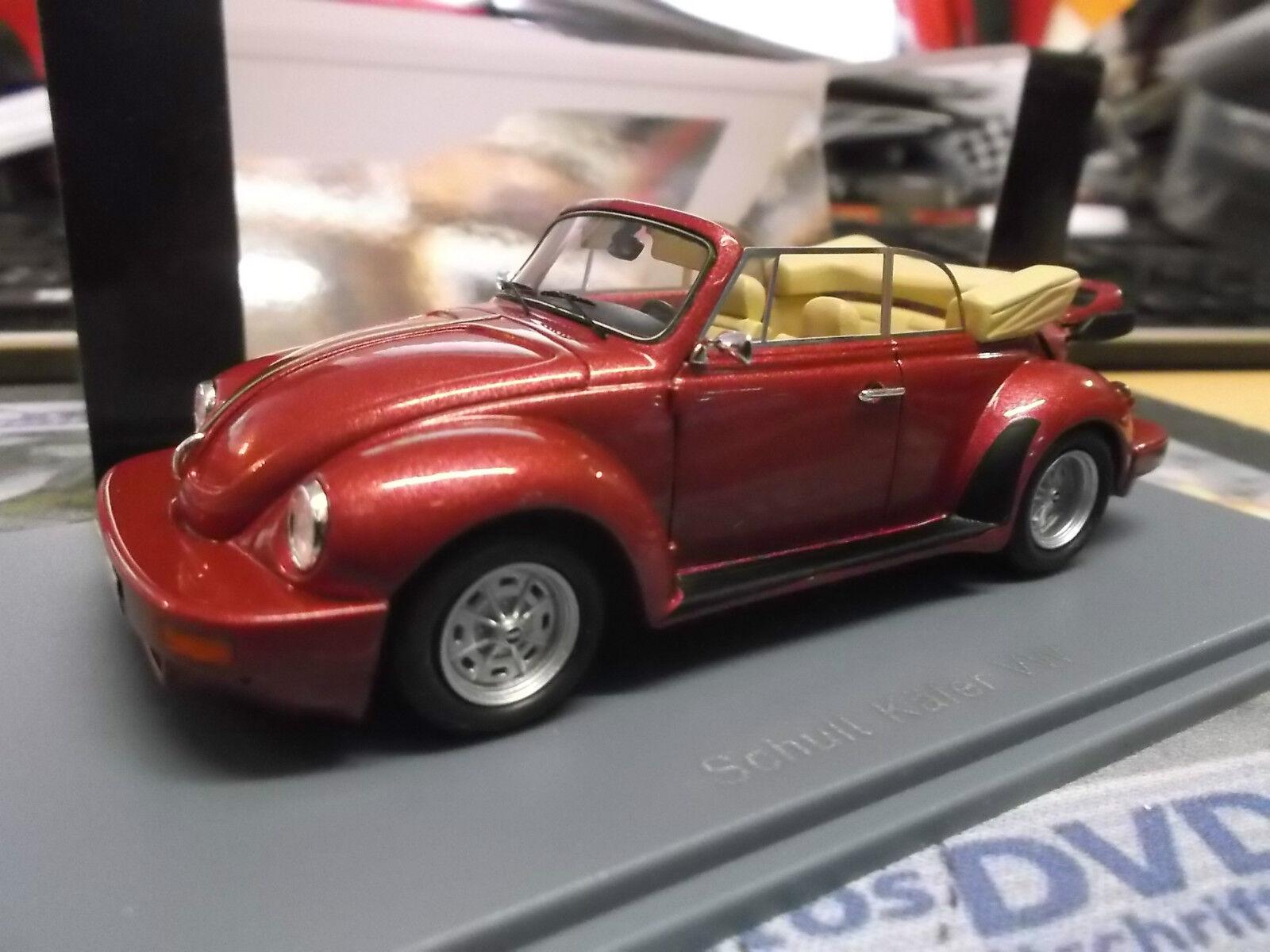 selección larga VW EsCocheabajo Volkswagen tuning estimula cabriolet rojo ro ro ro converdeible neo resin gama alta 1 43  saludable