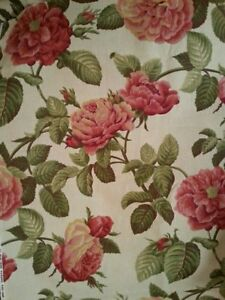 Huge Cabbage Roses Peonies Upholstery Fabric Hme Collections Madison