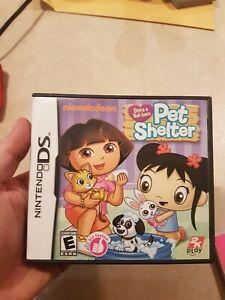 Dora-amp-Kai-lan-039-s-Pet-Shelter-Nintendo-DS-Game-Complete