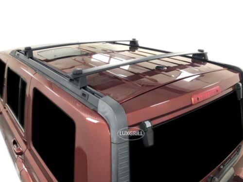Rrcb307 Portaequipajes Baca Jeep Commander 2006-12 Aluminio Negro