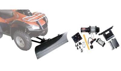 Winch Equipped UTV 72 Blade Fits: Kawasaki Teryx 750 800 Teryx4 2012-2019 Tusk SubZero Heavy Duty Snow Plow Kit