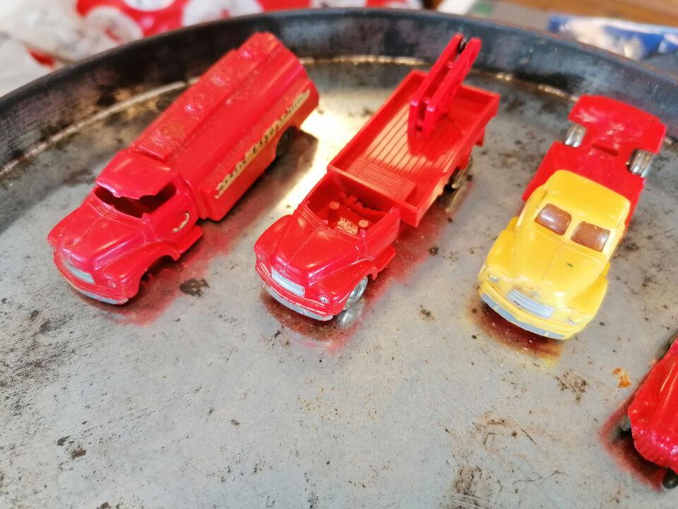 Miniature, vintage Lego biler og Pilot biler