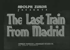 THE LAST TRAIN FROM MADRID 1937 (DVD) DOROTHY LAMOUR