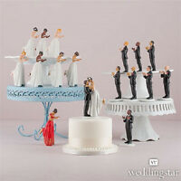 Interracial Ethnic Interchangeable Mix & Match True Romance Wedding Cake Topper